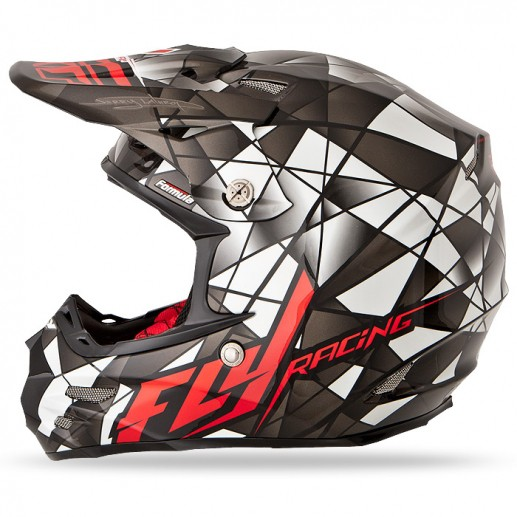 Casco MX FLY Formula